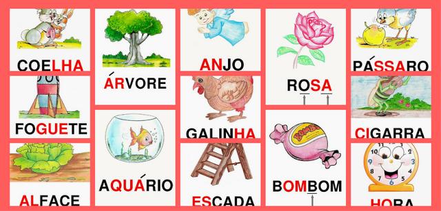 CARTAZES DE SÍLABAS COMPLEXAS