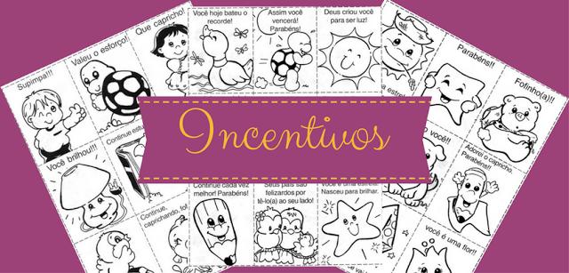 Recadinhos e Incentivos para os alunos