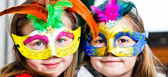 Máscaras para o Carnaval