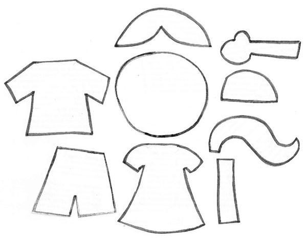 moldes de menino e menina para imprimir sÓ escola