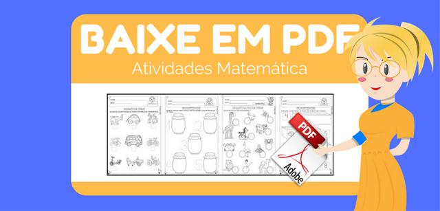 Baixe em PDF - Atividades Matemática