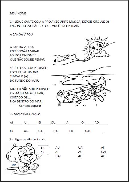 Plano de aula para educação infantil matematica