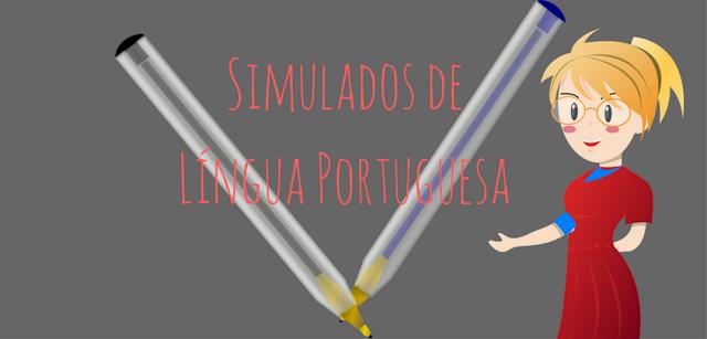 Nesta postagem estarei socializando os simulados de PORTUGUÊS priorizando os descritores apresentados pelo MEC.