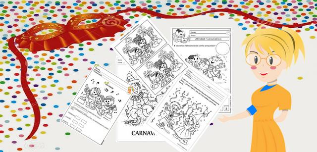 Atividades Educativas para trabalhar o Carnaval