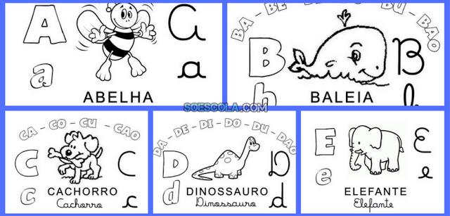 Baixe Alfabeto Família Silábica em PDF