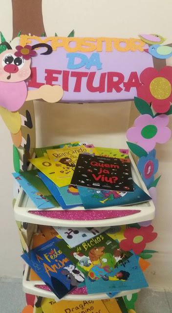 Expositor da leitura - Nas series iniciais estimular a leitura é muito importante