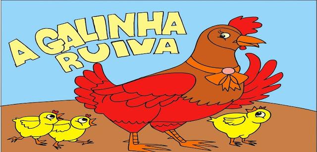 Histórias e Oficinas pedagógicas - A galinha ruiva