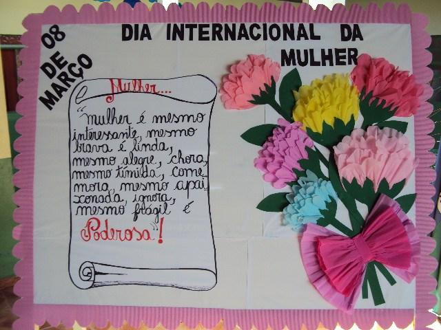 16 Murais Para O Dia Da Mulher Só Escola