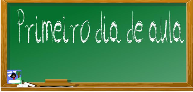 PLANO DE AULA - 1º dia de aula