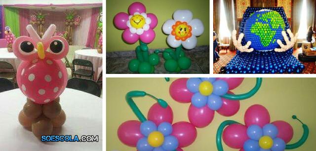 14 Ideias de Artes com Balões