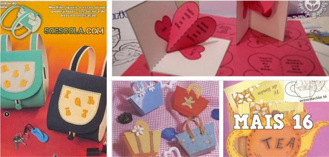 20 lembrancinhas para o Dia das Mães com moldes