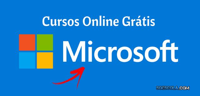 Microsoft oferece 32 cursos online grátis