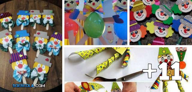 15 Lembrancinhas para o Dia do Circo com Moldes