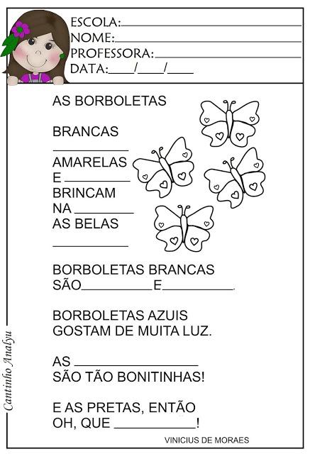 Poema: As Borboletas - Vinicius de Moraes
