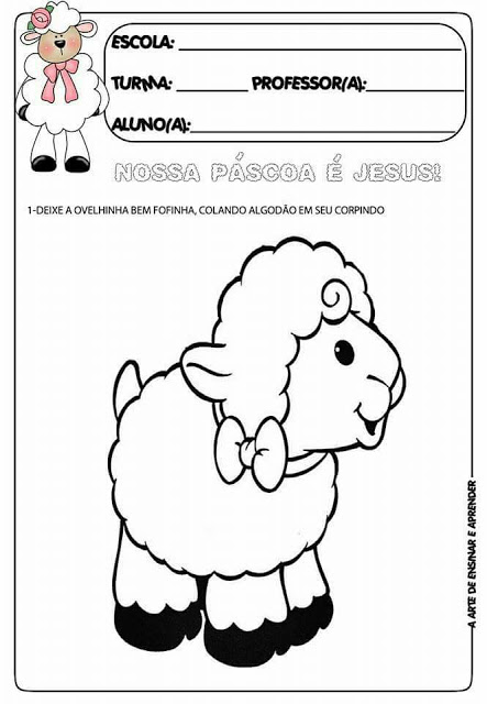 Atividades variadas para a Páscoa