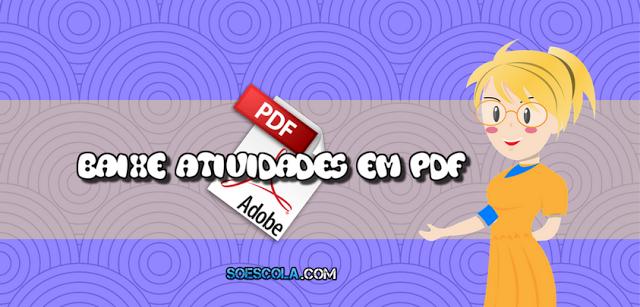 Baixe Atividades para 1º ano em PDF