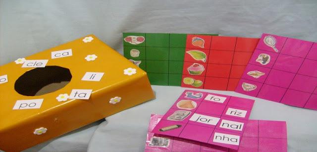 Jogo para desenvolver o Nível Silábico Alfabético