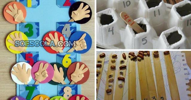 Matemática para Crianças de forma Lúdica - Contagem