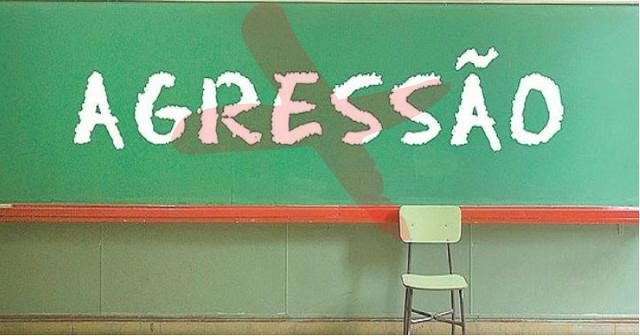AGORA É LEI! Família de aluno que agredir professor será responsabilizada.