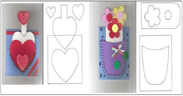 Confira 2 Lembrancinhas para Dia das Mães com Moldes disponível para imprimir.