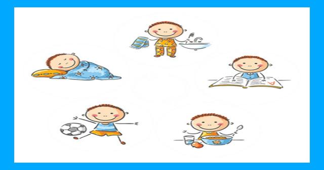 A importância da rotina na vida das crianças