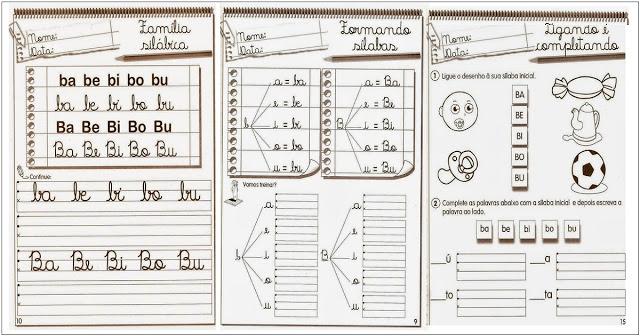 Confira Atividades de alfabetização para imprimir, pode ser aplicada para alunos do primeiro ao segundo ano do ensino fundamental.