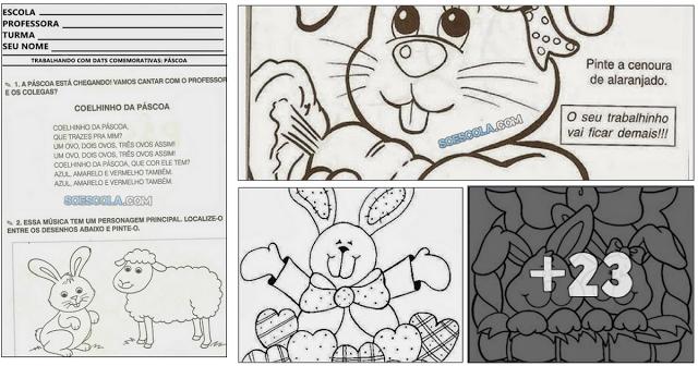 Educação Infantil - Atividades para Páscoa