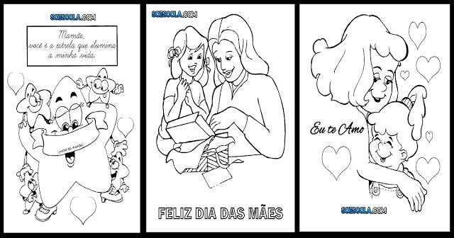 Confira Lindos desenhos do Dia das Mães prontos para imprimir e colorir.
