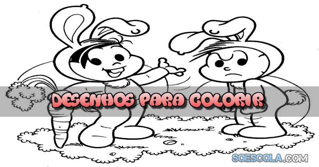 Desenhos para Colorir - Páscoa