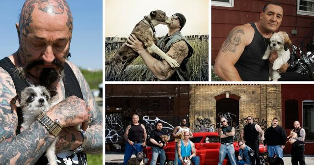 """Estes homens """"mal-encarados"""" fundaram uma ONG que resgata animais em situação de risco"""