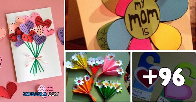 Confira ideias para trabalhar o Dia das Mães. São várias sugestões de Atividades, murais, lembrancinhas e muito mais.