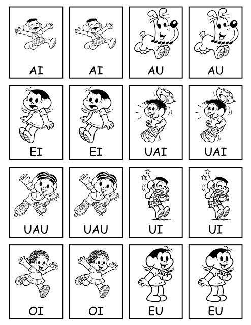 Nesta postagem trago para vocês uma sugestão jogo da memória para trabalhar as junções vocálicas de forma lúdica.