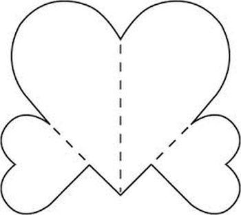 Moldes de Coração