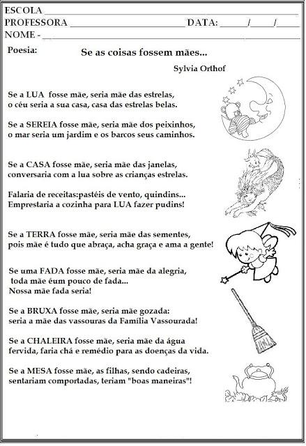 Poemas e Poesias para Dia das Mães