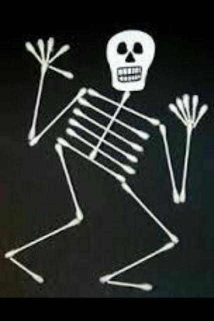 Trabalhando o corpo humano - Esqueleto