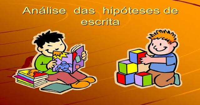 As hipóteses (fases) da escrita da criança segundo Emília Ferreiro são