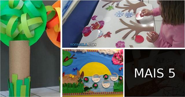 Neste projeto, ajudamos o professor a ensinar os alunos sobre a passagem do tempo e as quatro estações.
