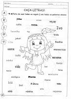 Atividades para Alfabetização Silábica