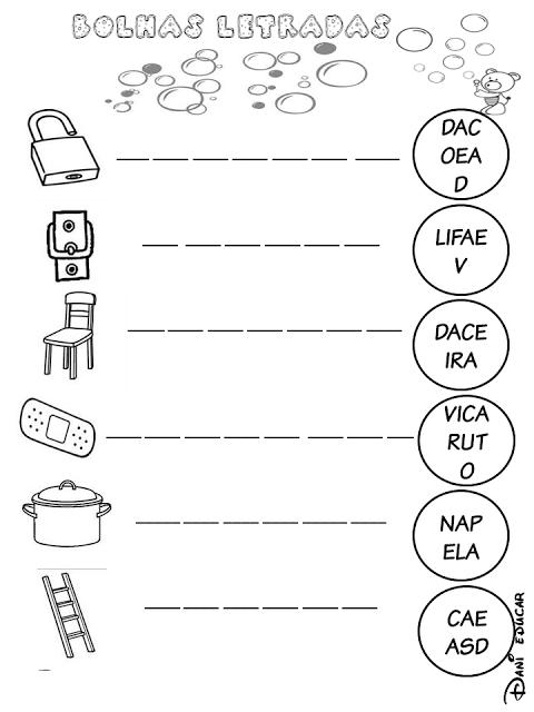 Confira nesta postagem atividades prontas para imprimir para trabalhar formação de palavras com alunos das séries iniciais.