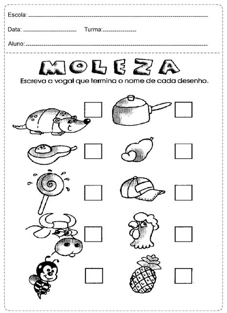 Atividades De Português 2º Ano Só Escola