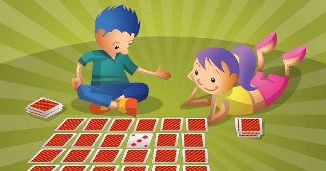 Jogos lúdicos matemáticos rápidos com baralho