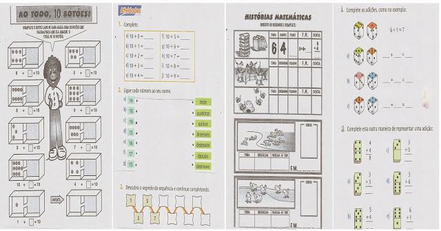 Atividade de Matemática 1º ano - Para Imprimir