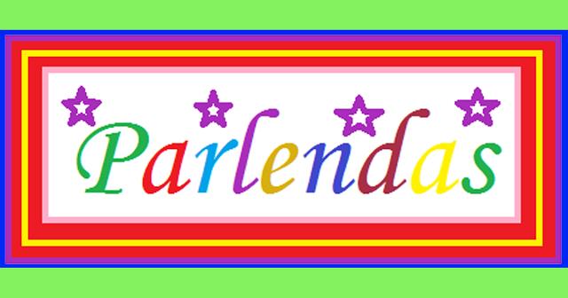 As parlendas são versinhos com temática infantil que são recitados em brincadeiras de crianças. São usadas por adultos também para embalar, entreter e distrair as crianças.