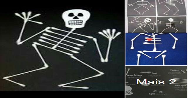 Trabalhando o Corpo Humano (esqueleto) de uma maneira divertida.