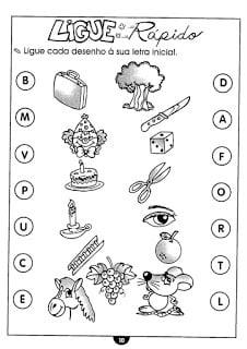 Atividades De Alfabetização Para Crianças De 6 E 7 Anos Só Escola