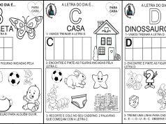 Confira Atividades - Família Silábica completa pronta para imprimir e utilizar em sala de aula ou pelos Pais para auxiliar no processo de alfabetização.