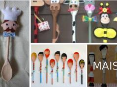 Ideias de artesanato com colheres: que podem ser feitas com alunos da Educação Infantil em sala de aula.