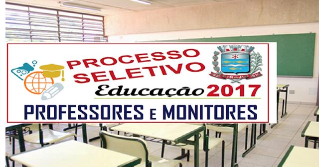 Prefeitura em SP abre Processo Seletivo para Professores e Monitores