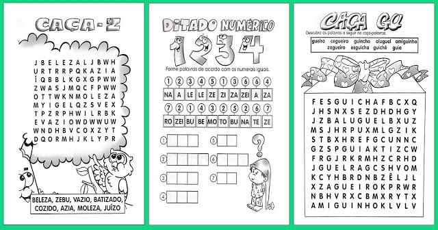 Confira nesta postagem Atividades Educativas de Alfabetização indicadas a alunos do 1º, 2º, e 3º ano do Ensino Fundamental.