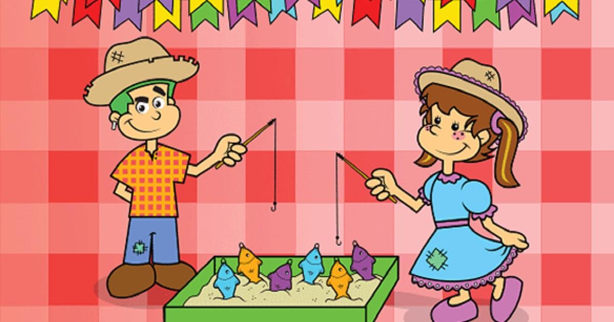 Atividades para Festa Junina para 2º ano do Ensino Fundamental prontas para Imprimir